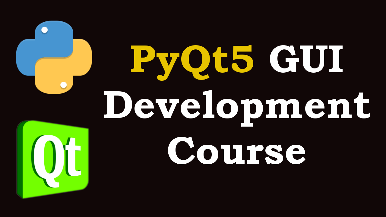 PyQt5 Tutorials - Geekscoders