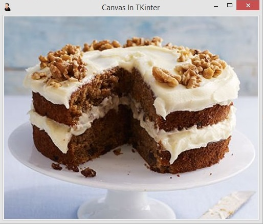 Add Image in TKinter Canvas
