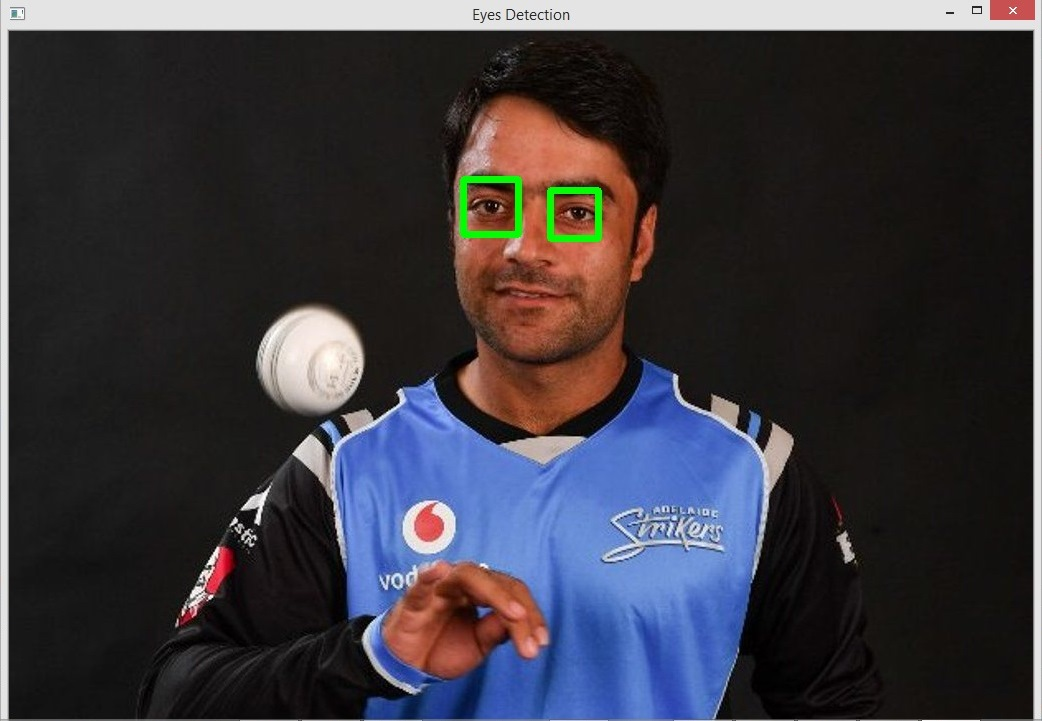 How to Detect Eye with Python OpenCV